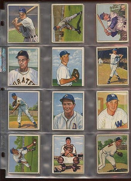Amazoncom 1950 Bowman Baseball Card Lot 44 Different Vgvgex