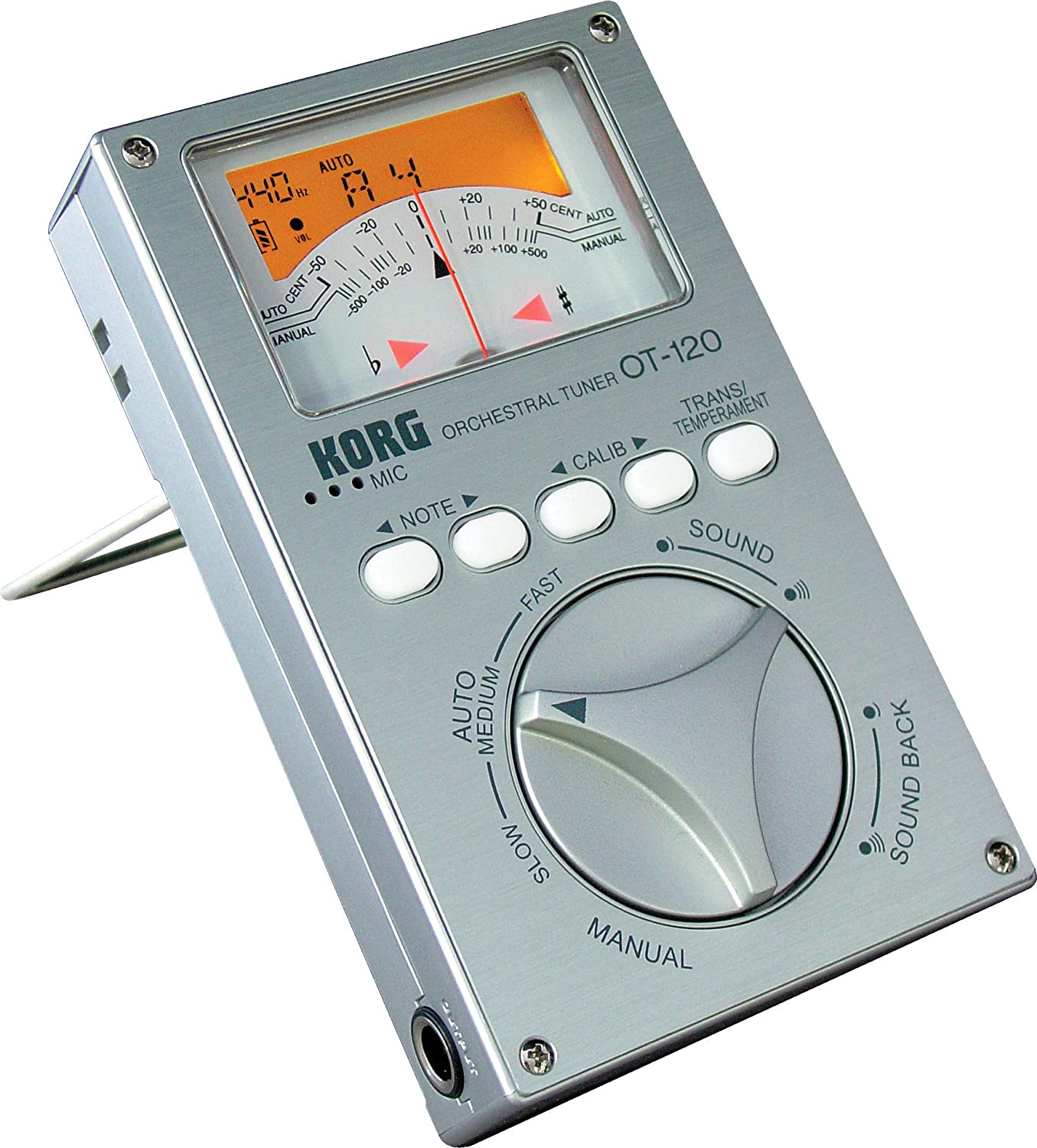 Korg OT-120 Wide 8 Octave Chromatic Orchestral Tuner (japan import) OT120