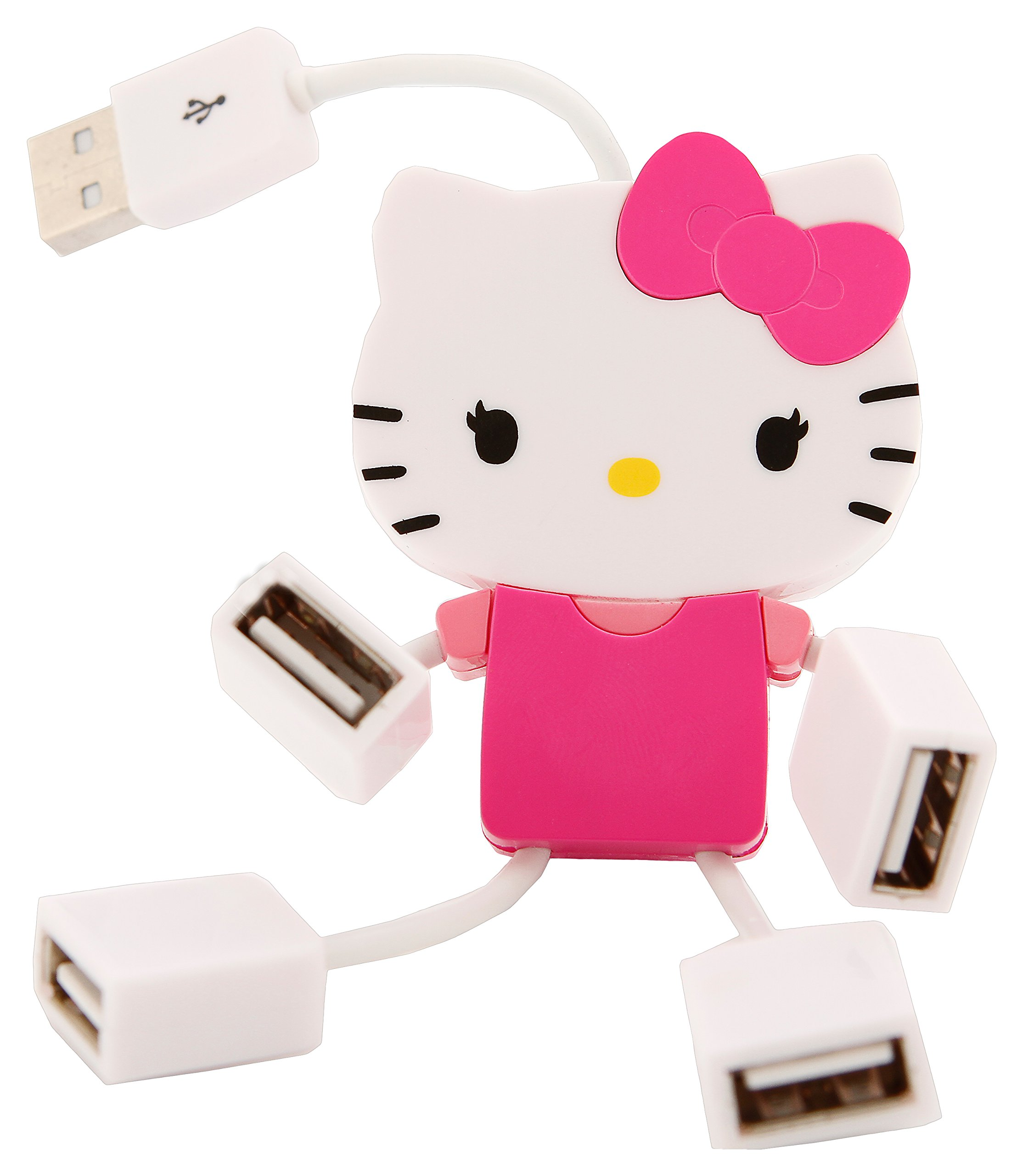 Hello Kitty Molded USB Hub (75009-BBB)
