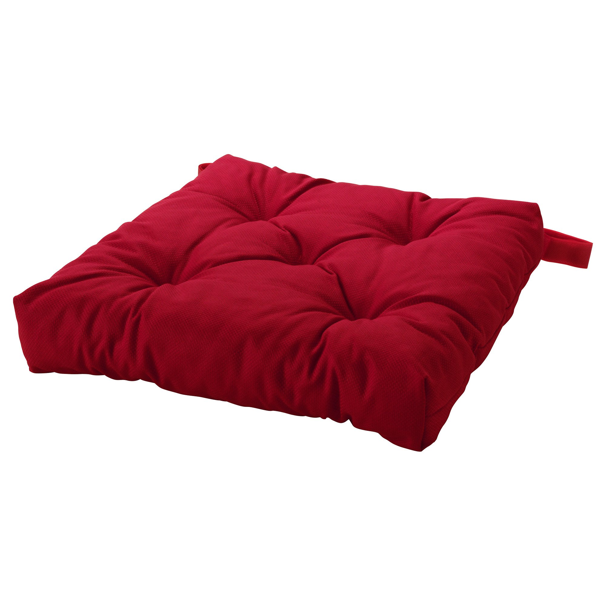 Ikeas MALINDA Chair cushion (1, Red) by Ikea (Image #2)