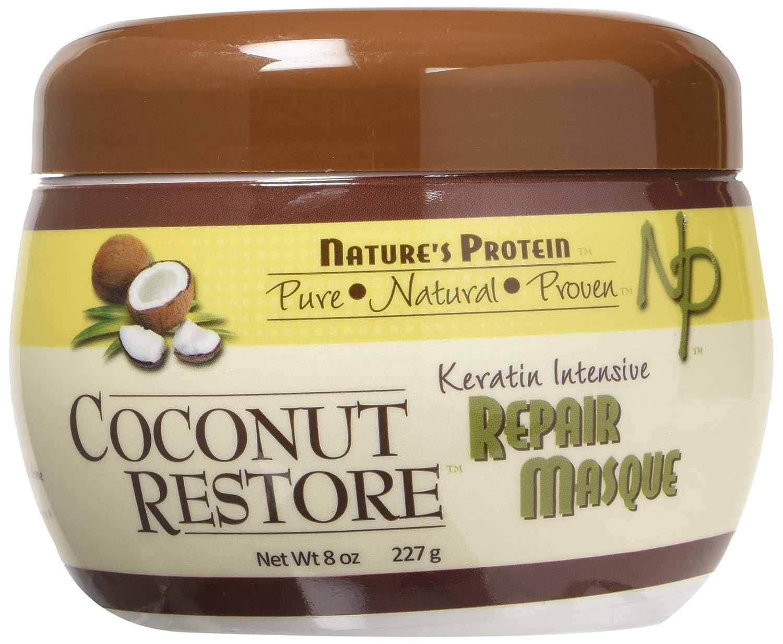 Nature's Protein Natures Protein Coconut Restore Keratin Intensive Repair Masque 8oz, 8 Oz