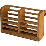 Totally Bamboo Dish Rack Utensil Holder, Beautiful and Durable Bamboo