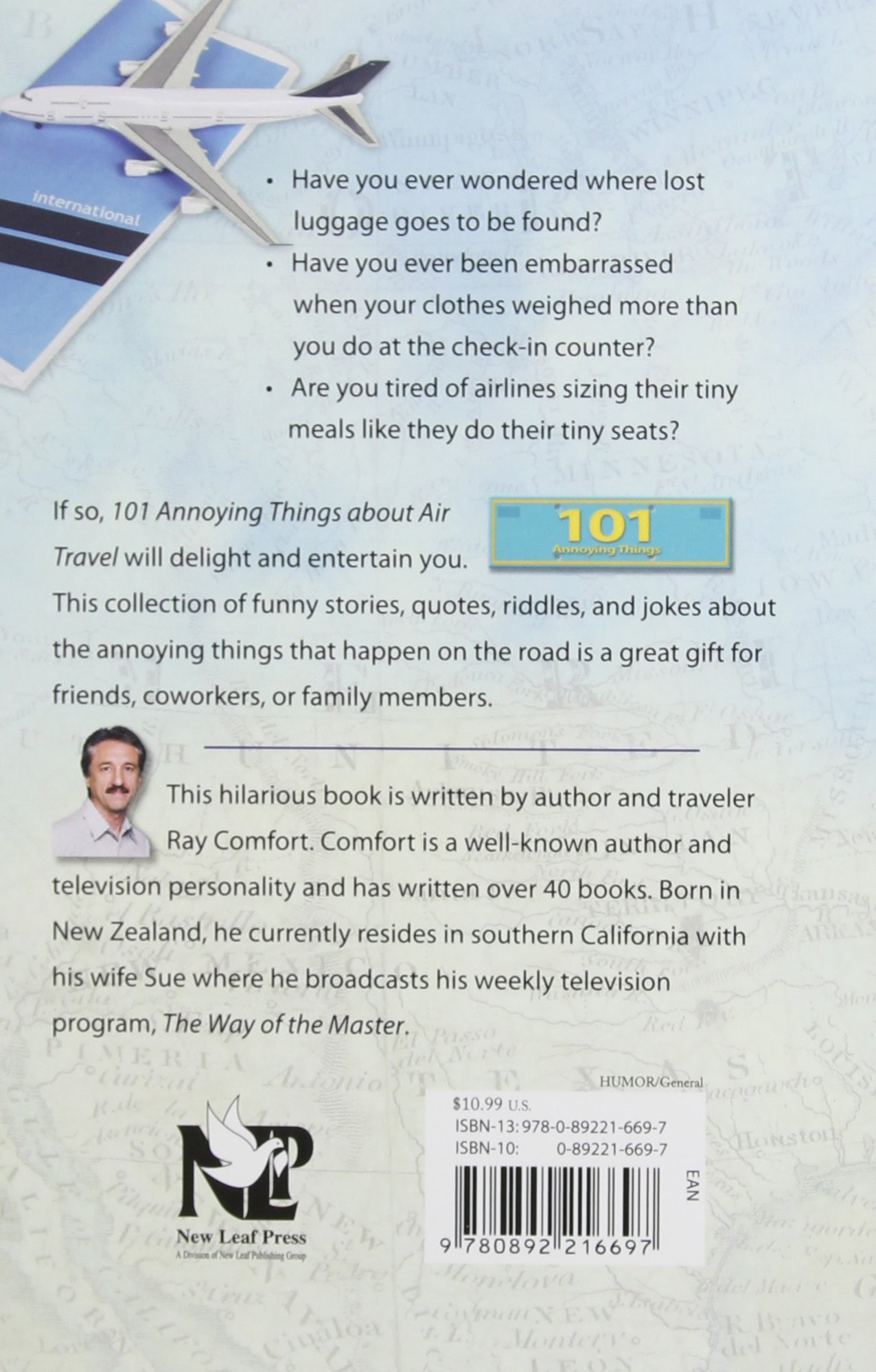 101 Annoying Things About Air Travel Ray Comfort 9780892216697