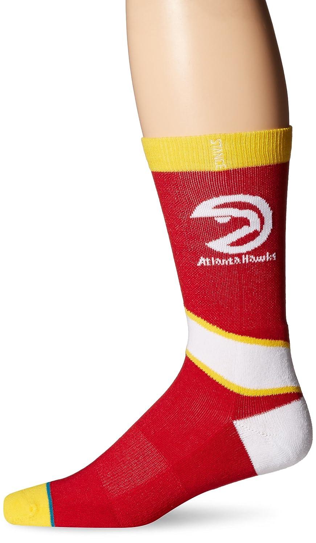 Stance Mens NBA Atlanta Hawks Crew Socks Red M: Amazon.es: Ropa y ...