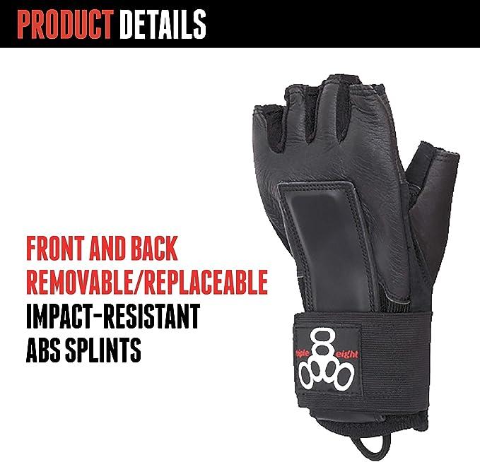 Triple 8 Schutzausr/üstung Handschuhe Downhill Equipo de protecci/ón Unisex Adulto
