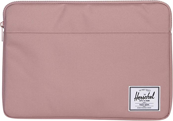 Herschel Anchor Sleeve for MacBook/iPad, Ash Rose, 15-Inch