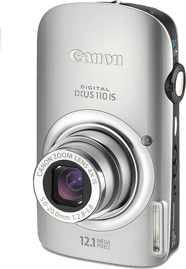Canon Digital Ixus 110 Is Digitalkamera 2 8 Zoll Silber Kamera