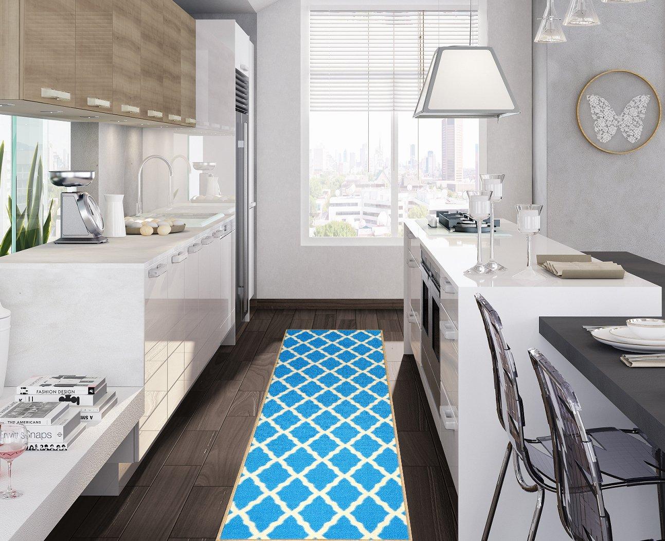 Rug Carpet Modern Design Moroccan Bedroom Lattice Runner Rugs ...