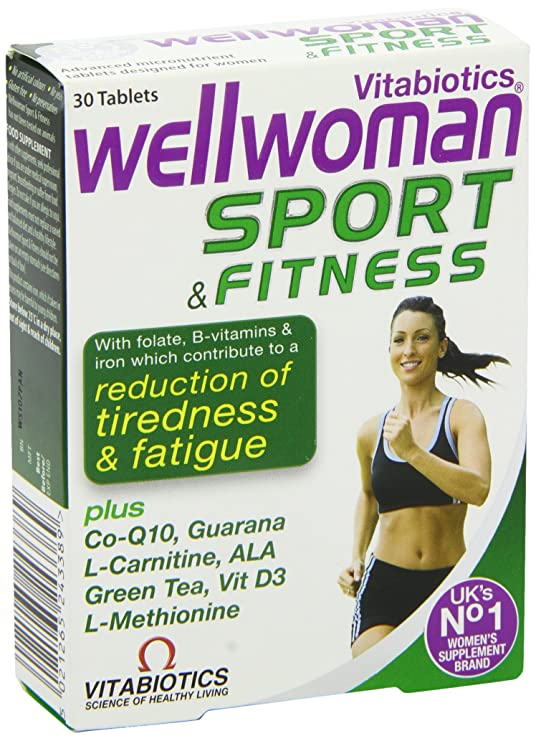Vitabiotics Wellwoman Sport and Fitness Tablets 30 Capsules: Amazon.es: Electrónica