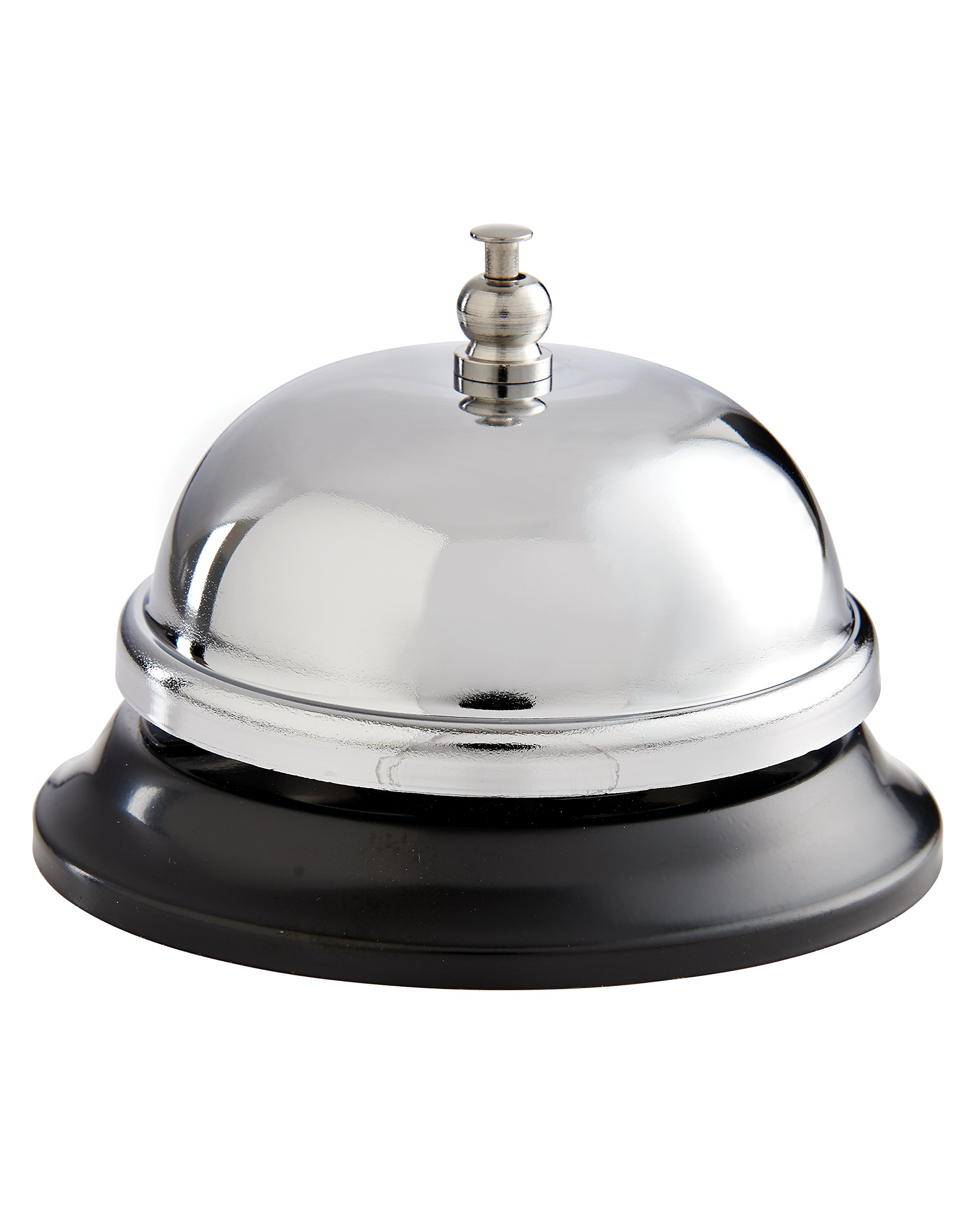 HIC Food Service Dinner Bell, 3.5-Inches x 2.5-Inches