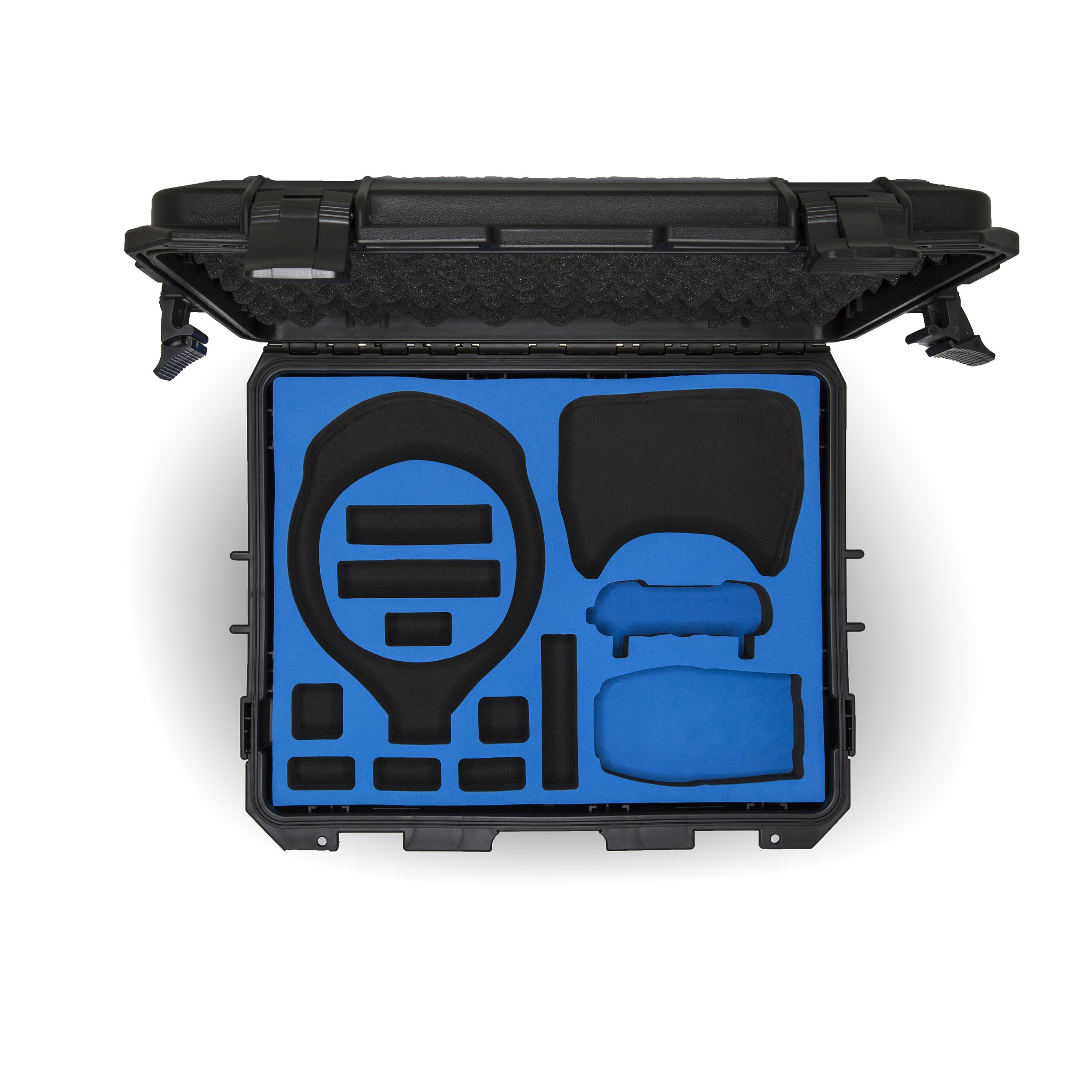 Ultimaxx Water Proof Rugged Compact Storage Hard Case for DJI FPV VR Goggles and DJI Mavic Air + Fits Extra Accessories by Ultimaxx (Image #3)
