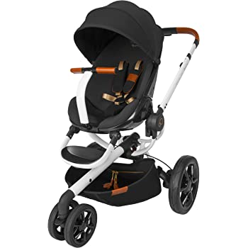 Amazon.com : 4moms Origami Stroller, Black/ Silver