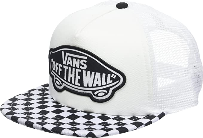 Vans_Apparel Beach Trucker Hat Gorra de béisbol, Negro (Black ...