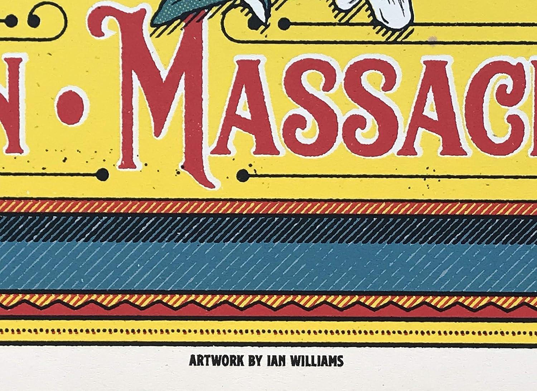 Amazon.com: Pearl Jam boston poster fenway park 2018 ian williams ...