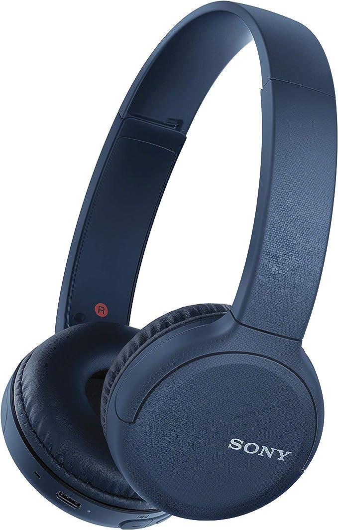 Sony Wh Ch510 Kabellose Bluetooth Kopfhörer Blau Elektronik