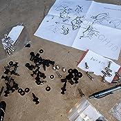 98PCS Silver Full Fairing Bolt Kit Fasteners Nuts Screws For Honda VFR800 1998 1999 2000 2001 MADE IN USA