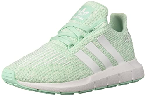 huge discount 6494f 88517 adidas Originals Unisex Swift Running Shoe, Clear Mint White aero Green,  10.5