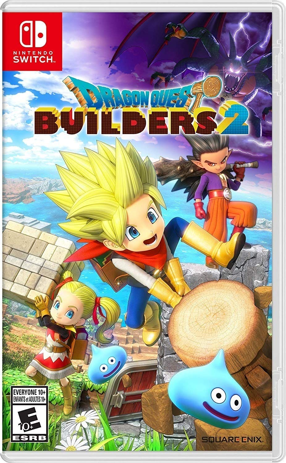 Amazon Com Dragon Quest Builders 2 Nintendo Switch Nintendo Of America Video Games