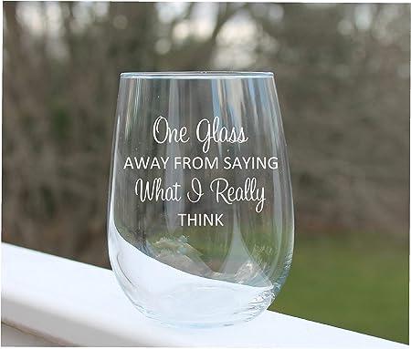 Divertenti Bicchieri Da Vino Incisi Senza Stelo Da Vino Con Frasi