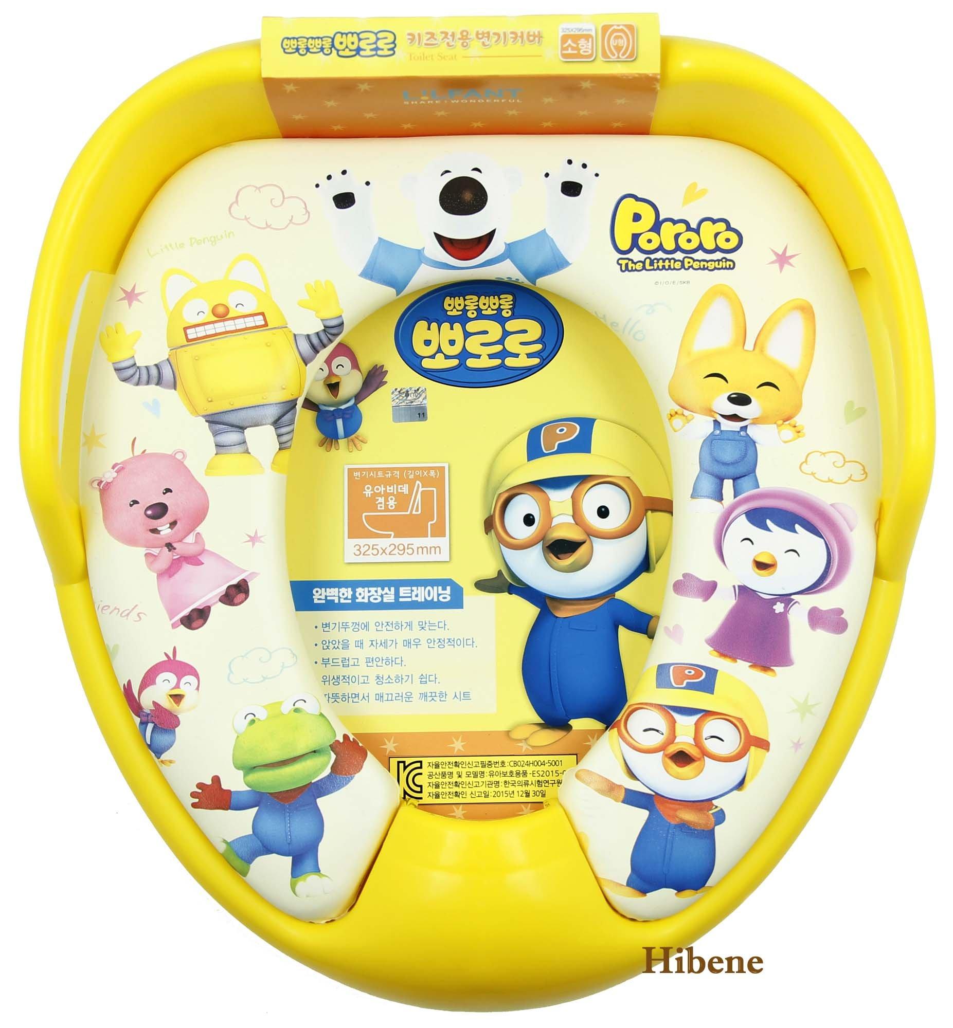 Pororo Children Potty Soft Toilet Training Handle Seat Cover