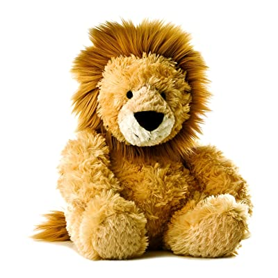 "AuroraPlush 12"" Mid-Size Stuffed Animal Collection ( Lion ) (Lion): Toys & Games"
