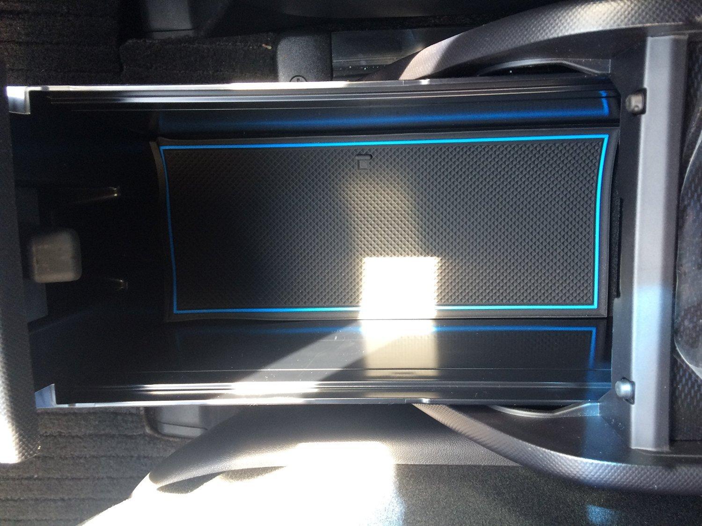 KINMEI Toyota Estima ESTIMA blue 50-based vehicles specially designed interior door pocket mat drink holder anti-slip rubber non-slip storage space protection TOYOTAes-b
