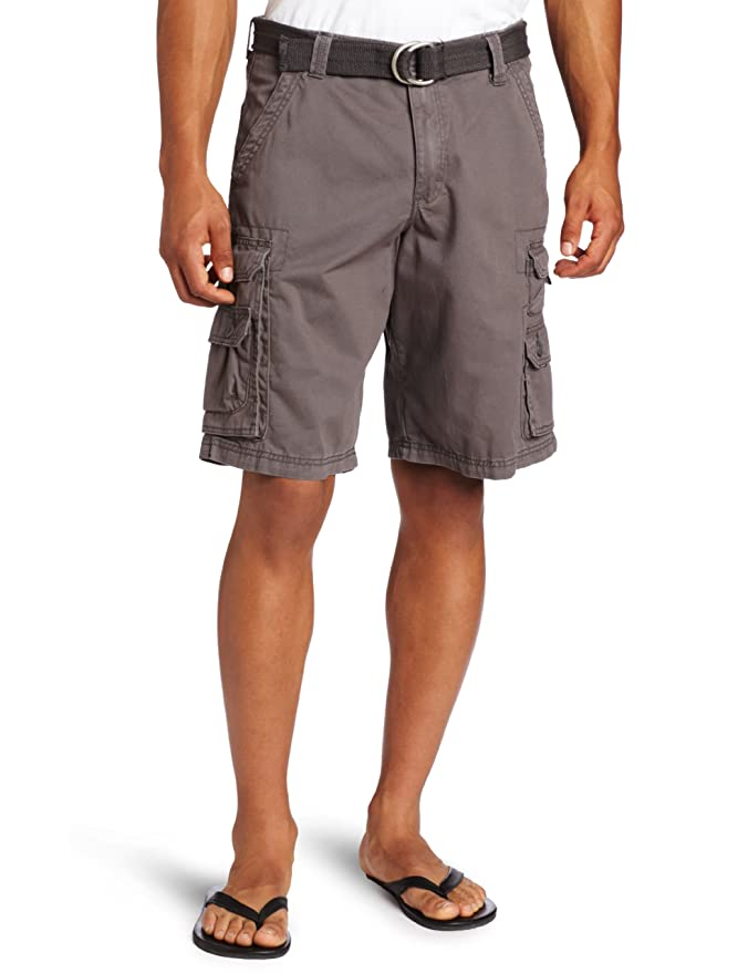 ac54a03f026 Amazon.com  LEE Men s Big   Tall Dungarees Belted Wyoming Cargo Short   Clothing