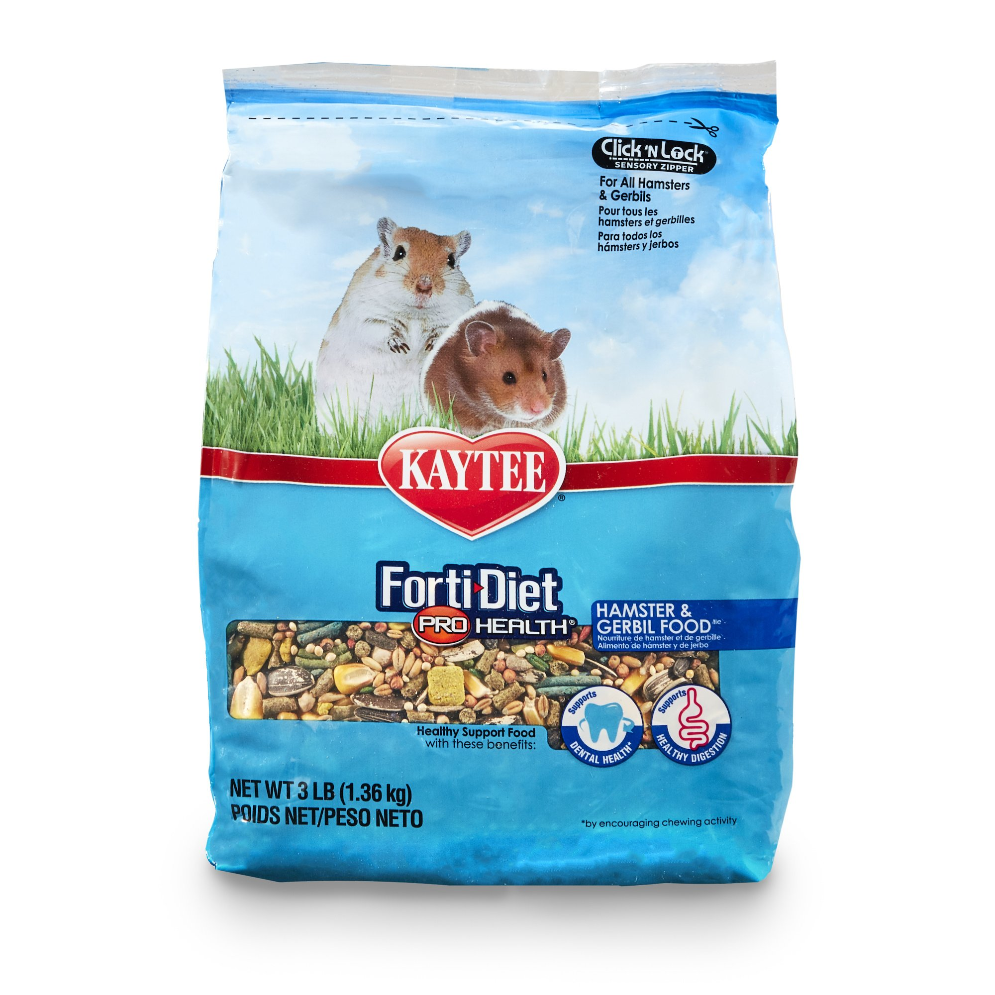 Kaytee Forti Diet Pro Health Hamster Food, 3-Pound by Kaytee (Image #1)