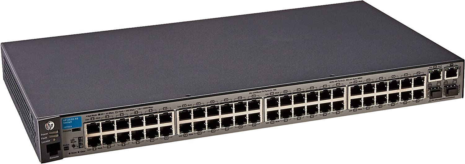 HPE Networking BTO J9781A#ABA Aruba 2530 48 Switch