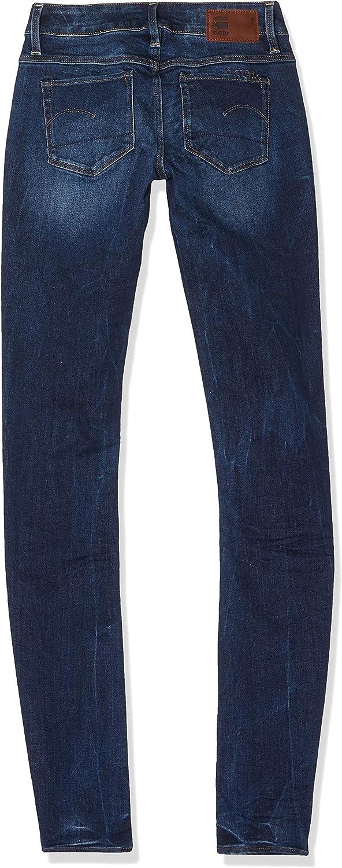 G-Star Raw Womens 3301 Low Skinny Jeans