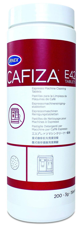 CAFIZA Urnex Espresso Machine Cleaning Tablets, White, 3 g, Pack of 120 URN1602