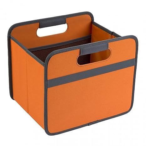 Meori® 15L Caja Plegable Organizador para Ikea Kallax Color Naranja Uni