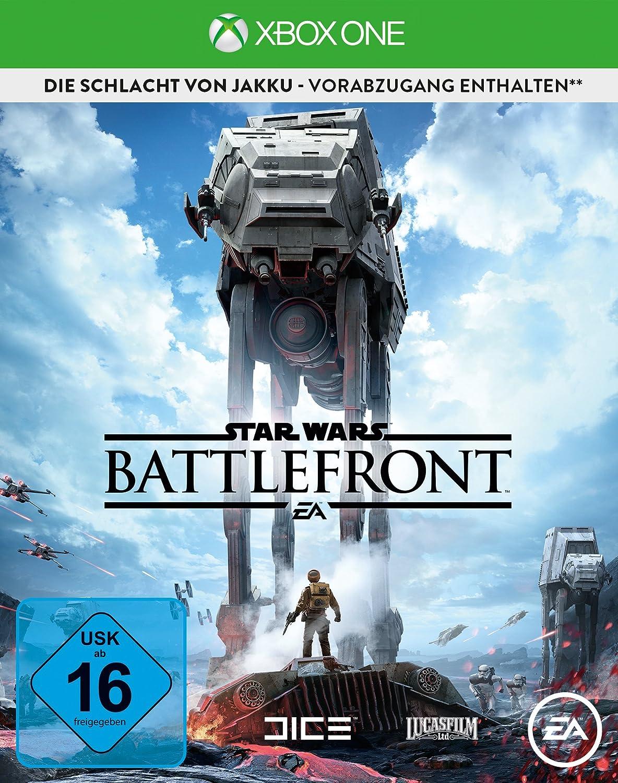 Electronic Arts Star Wars: Battlefront Day 1 Edition Xbox One Básico Xbox One Alemán vídeo - Juego (Xbox One, Acción, Modo multijugador, T (Teen)): Amazon.es: Videojuegos