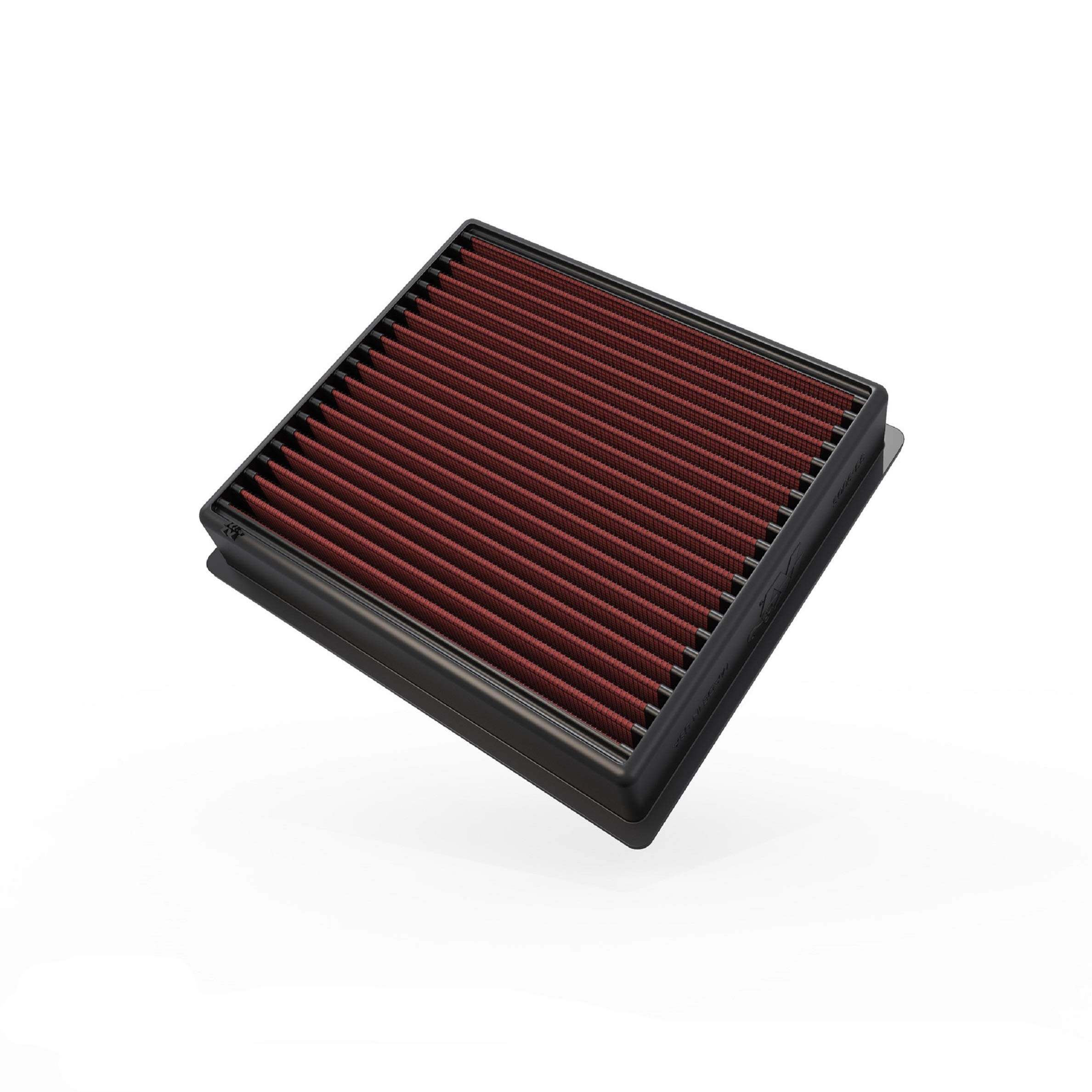 K&N Engine Air Filter: High Performance, Premium, Washable, Replacement Filter: Fits 2013-2019 Dodge Ram Truck L6 DSL/V8 FI (2500, 3500, 4500, 5500), 33-5005