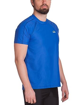 9c5688e3706b iQ-UV Loose Fit Camiseta, Hombre, Azul Oscuro, 4XL/60: Amazon.es ...