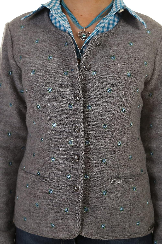 UVP 159,95€ Desigual Piagesteppte Jacke mit Musterung an den Ärmelnehem