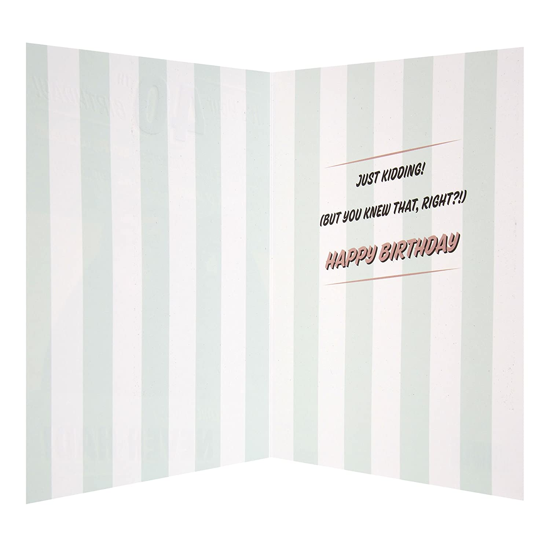 Hallmark 40th Birthday Card And Fantastic Medium