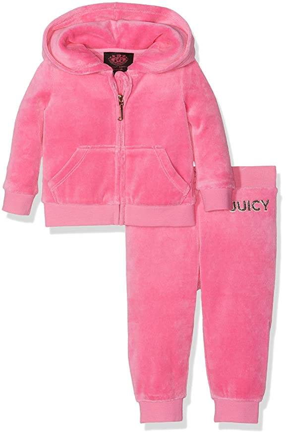Juicy Couture Logo Certified Glam Track Set, Chándal para Bebés ...