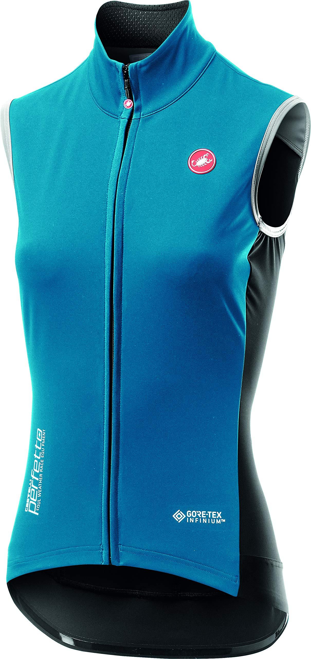 Castelli Perfetto ROS Vest - Women's Marine Blue, XL by Castelli