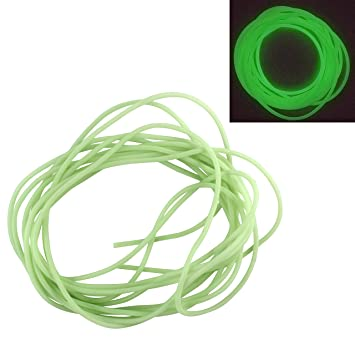 30 Pcs 2.5mm x 6.5mm x 2mm Rubber O Rings for Wacky Worm Fishing T1