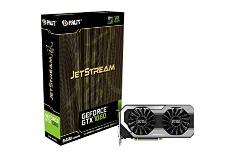 Amazon.com: Palit ne51060015j9 – 1060j GeForce GTX 1060 6 GB ...