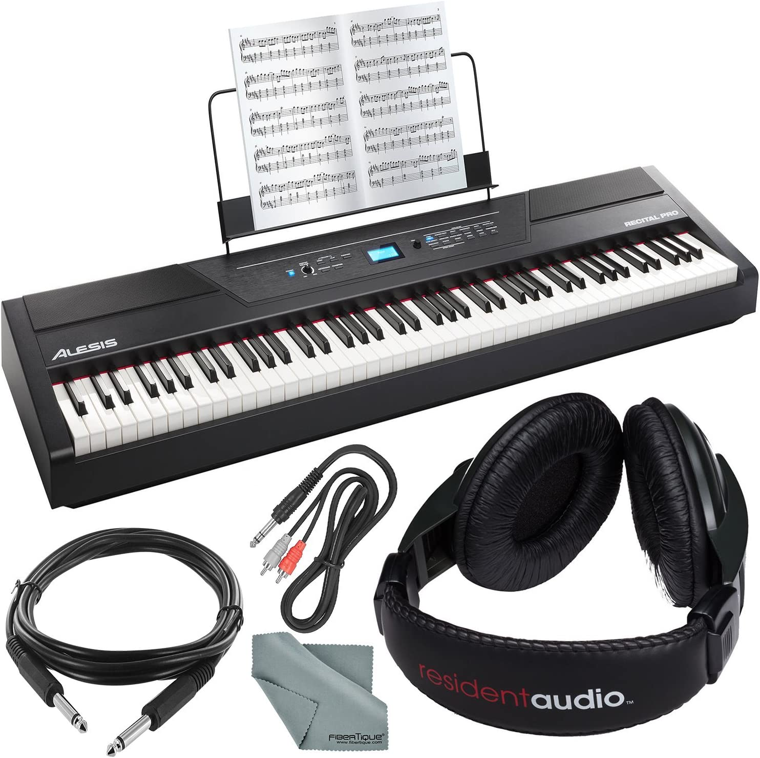 Alesis Recital Pro piano digital de 88 teclas con llaves de ...