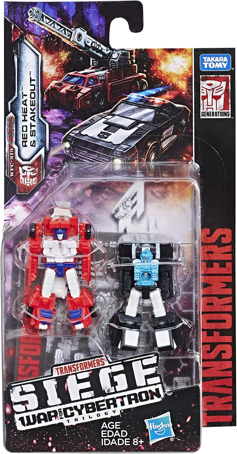 Transformers Generations Siege Micromasters Wave 2 Rescue Team