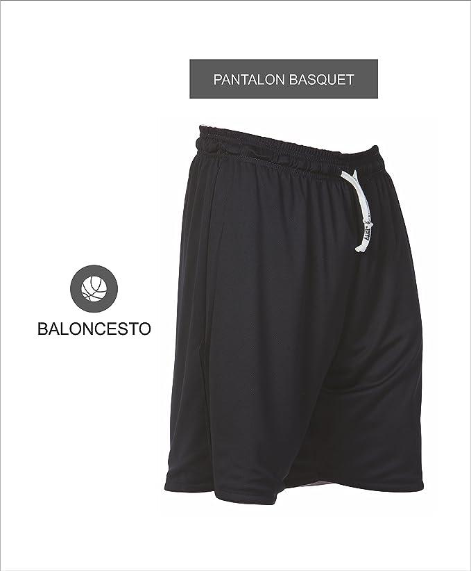 Asioka 94//17 Pantal/ón de Baloncesto Corto Unisex Adulto