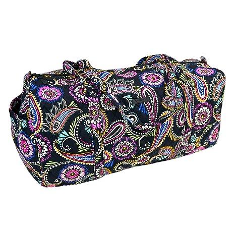 5056cbbbc300 Amazon.com  Vera Bradley Large Traveler Duffel Bag (Bandana Swirl)  Baby