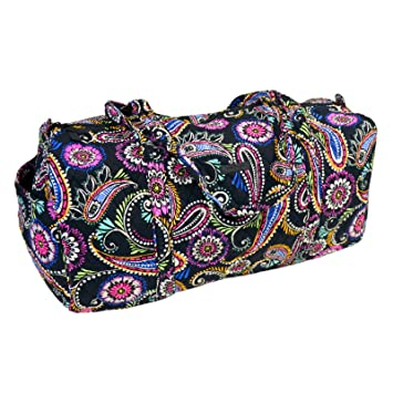 Buy vera bradley Large Traveler Duffel Bag (Bandana Swirl) Online at Low  Prices in India - Amazon.in 7676cd5907
