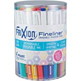 PILOT FriXion Fineliner Erasable Marker Pens, Fine Point, Assorted Color Inks, Tub of 36 (3 Each of 12 Assorted Colors…