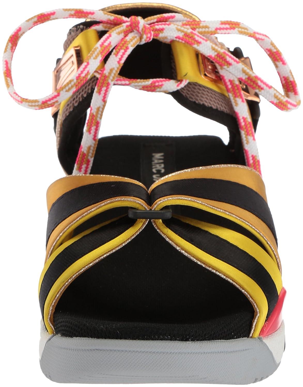 Marc Jacobs Women's Somewhere M Sport Sandal B075Y699PW 40 M Somewhere EU (10 US)|Yellow/Multi dc6105