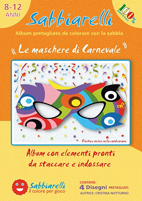 Sabbiarelli Sand It For Fun Album Le Maschere Di Carnevale 4