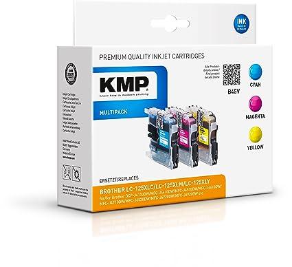 KMP B45V Cian, Magenta, Amarillo cartucho de tinta ...